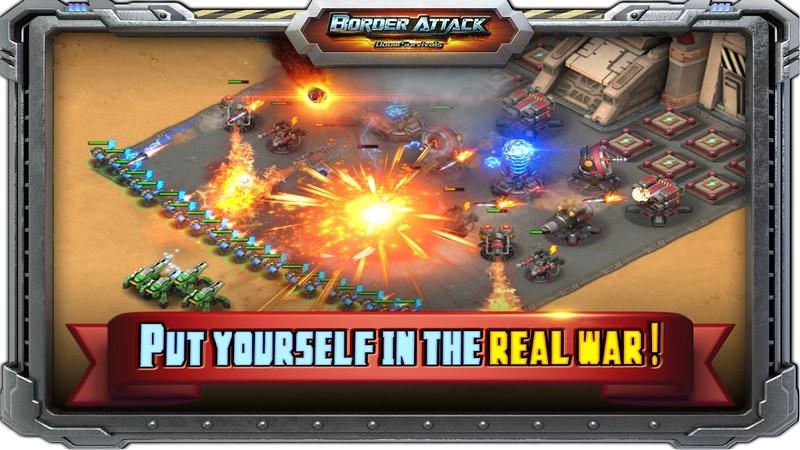 Border Attack - StarCraft phiên bản Mobile là đây???