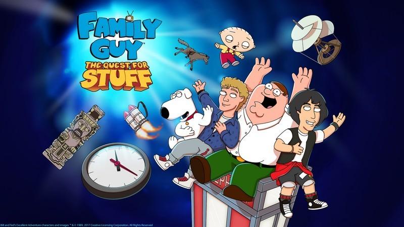 Family Guy The Quest for Stuff - Game siêu dị ăn theo series hoạt hình cực nổi