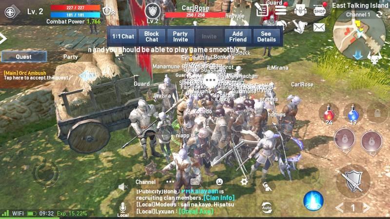 Lineage 2: Revolution - MMORPG Mobile siêu khủng xứ Hàn mở cửa bản quốc tế