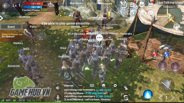 Lineage 2: Revolution - MMORPG Mobile siêu khủng xứ Hàn mở