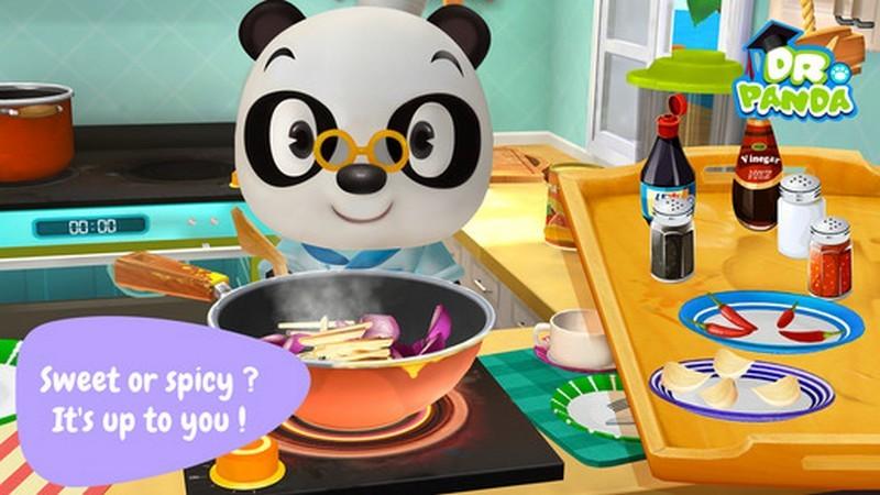 Dr. Panda Restaurant 2 - Game nấu ăn cho con gái mà con trai lại nghiện