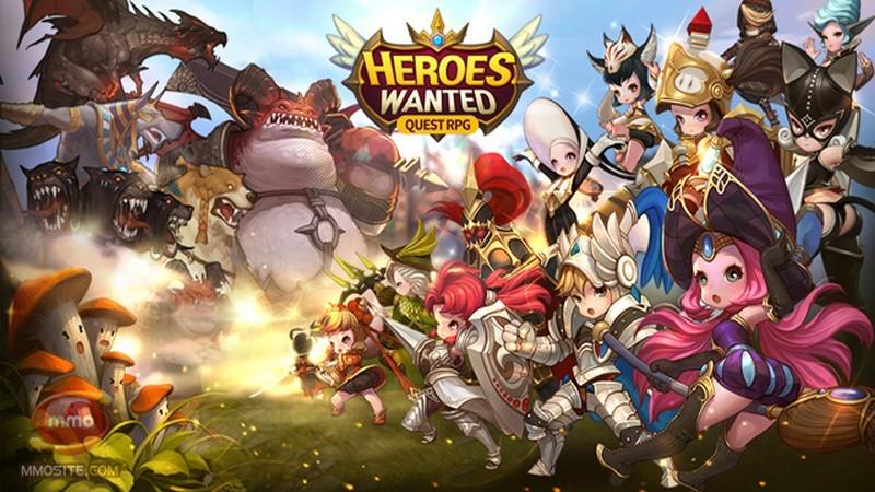 Quest RPG Heroes Wanted – RPG đỉnh cao của Hàn gây bão Mobile