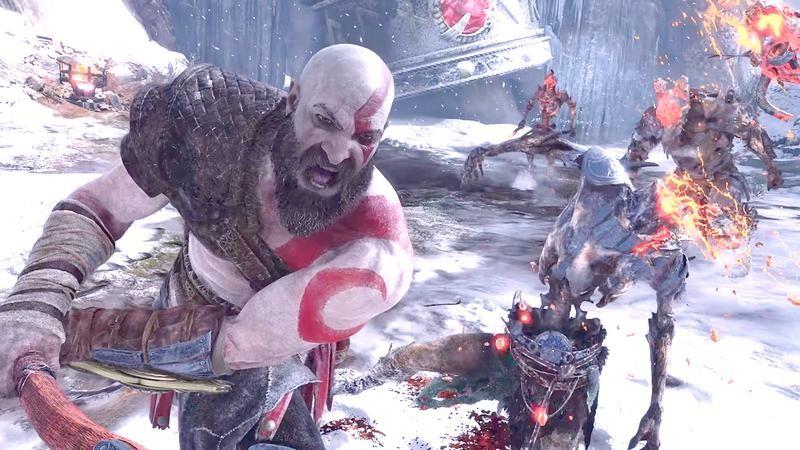God of War 4 - Con trai Kratos sẽ chất chơi không kém ông bố