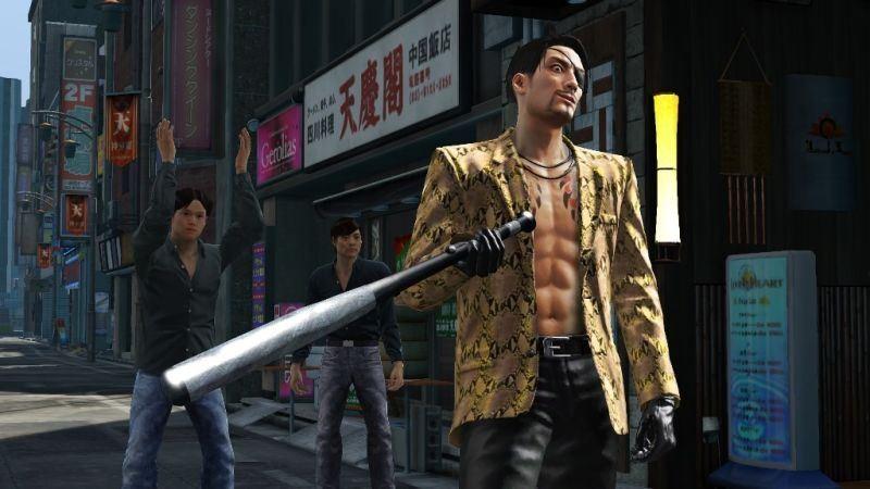 Yakuza Kiwami – Khi người chơi ăn hành ngập mồm bởi nhân vật chính