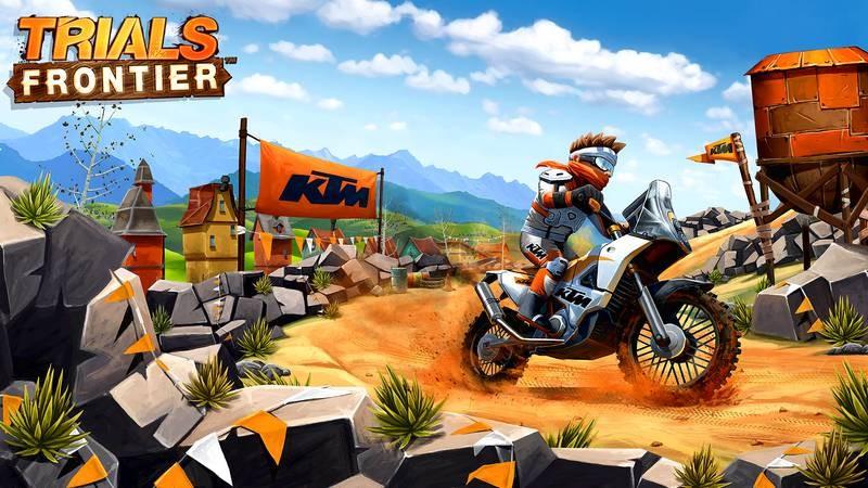 Cùng chơi lại Trials Frontier - Game siêu nghiện Mobile