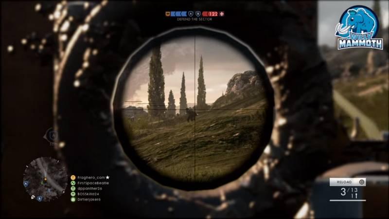 Xạ thủ Battlefield 1 giết 23 chết 1 chỉ trong vòng 3 phút