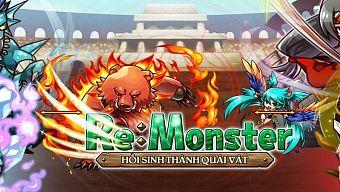 RE:Monster – Siêu phẩm chiến thuật HOT nhất Nhật Bản chính thức ra mắt