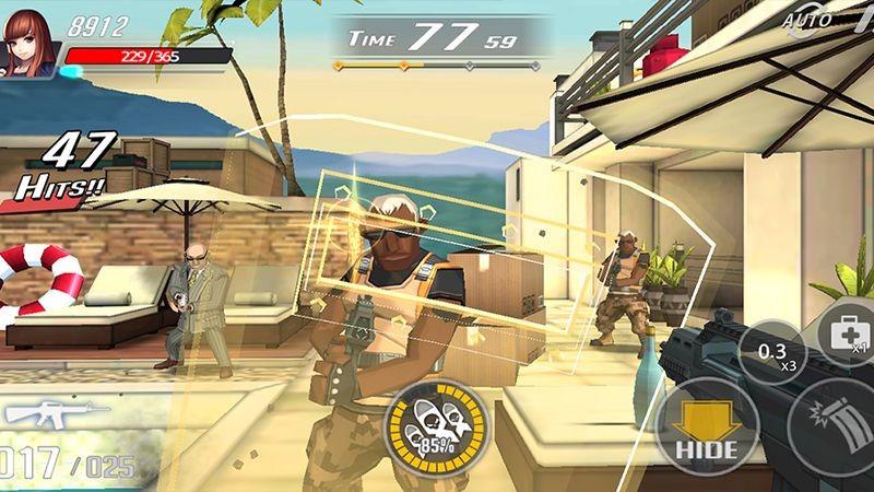 Over Touch - FPS Mobile siêu dị đúng chuẩn Virtua Cop