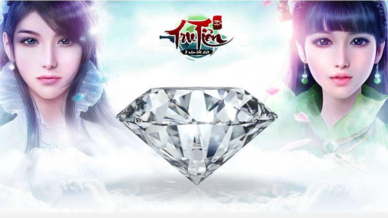 Tru Tiên 3D – Đã có hơn 150.000 người Hẹn ước, viên Kim cương 20 triệu chính thức xuất hiện