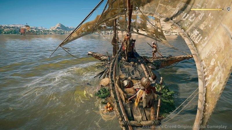 Những tính năng khiến Assassin's Creed Origins đang được mong ngóng từng ngày