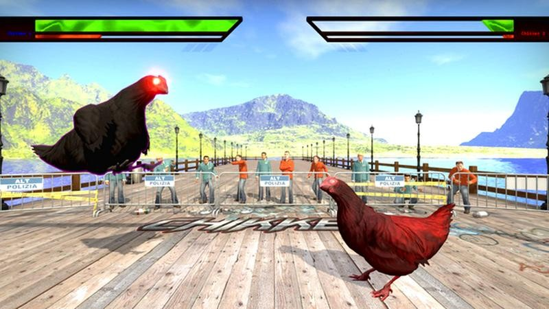 Game thủ biến CSGO thành game đối kháng cho... gà