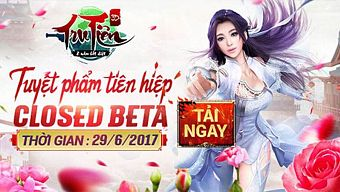 Tru Tiên 3D cho phép game thủ download, 10h00 ngày 29/6 chính thức Closed Beta