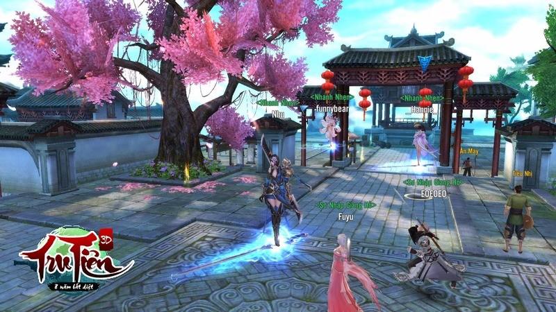 [Review] Tru Tiên 3D Closed Beta – Game thủ phải xếp hàng chờ vào game