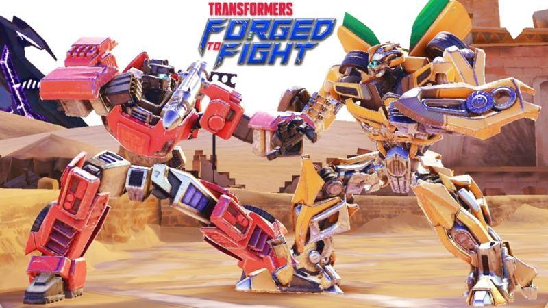 Transformers: Forged to Fight - Siêu phẩm đối kháng ra lâu rồi mà vẫn hot