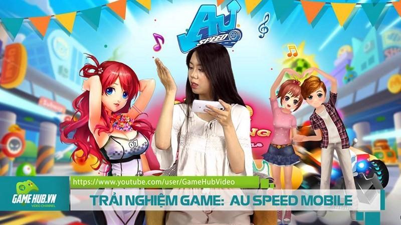 TRẢI NGHIỆM GAME : AU SPEED