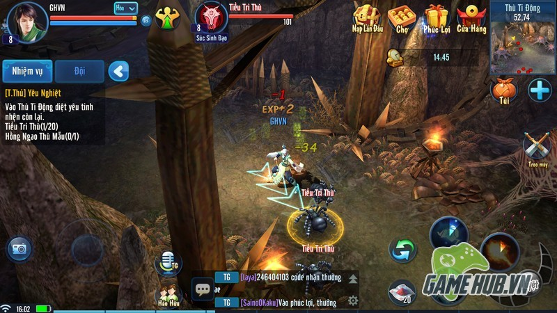 Thiện Nữ Mobile - BOM TẤN game di động cập bến Việt Nam 1