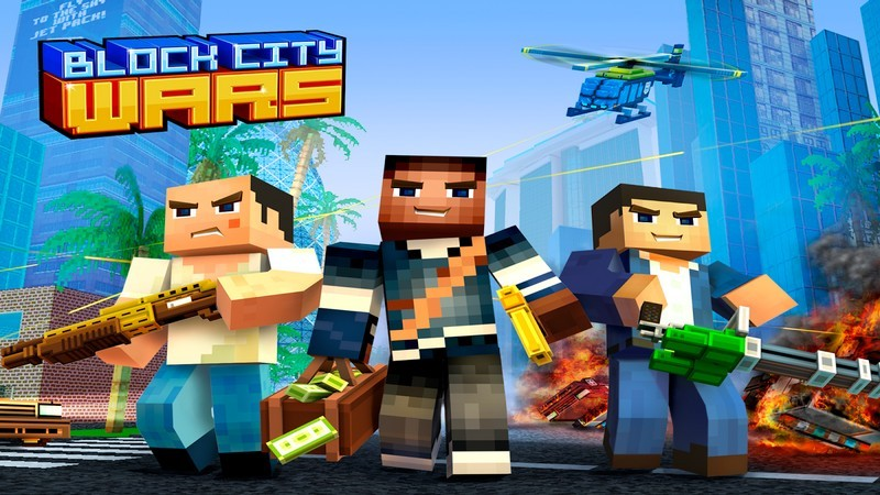 Block City Wars – Minecraft ám GTA 5 với Game Mobile độc