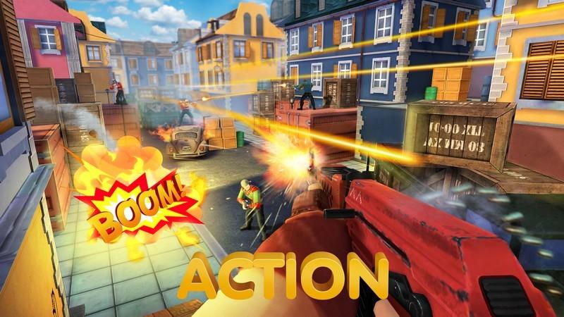 Guns of Boom – Đừng quên thử FPS Online cực dị trên Mobile