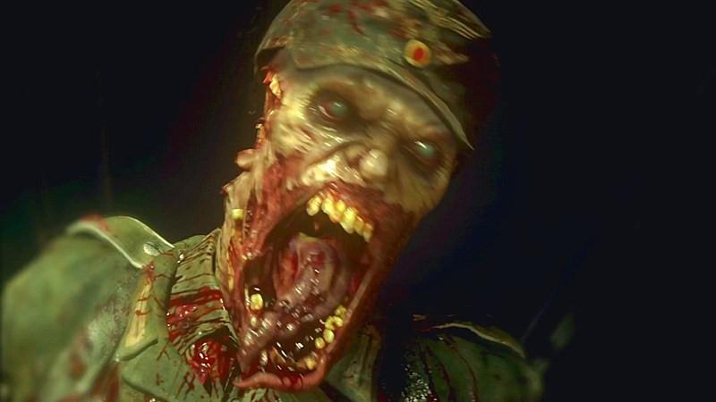 Hãi hùng trước Trailer lộ diện Zombie của Call of Duty: WW2