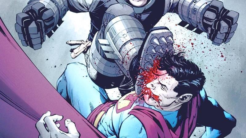 Khi tay Batman vấy máu Justice League