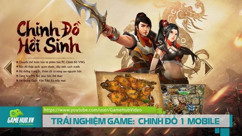 TRẢI NGHIỆM GAME: CHINH ĐỒ 1 MOBILE