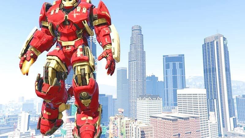 GTA 5 - Siêu Mod Iron Man đời 2 chính thức phát hành