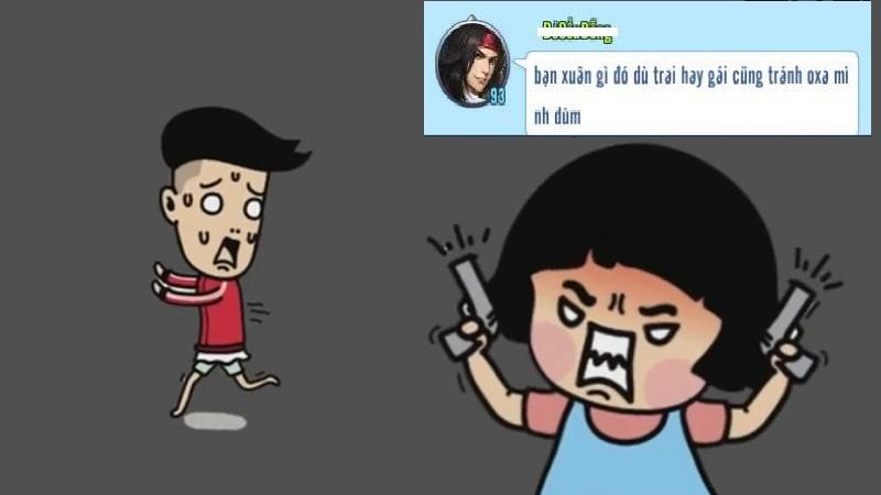"""VLTK Mobile – Bi hài vợ lấy Acc của chồng vào game… """"đánh ghen"""""""