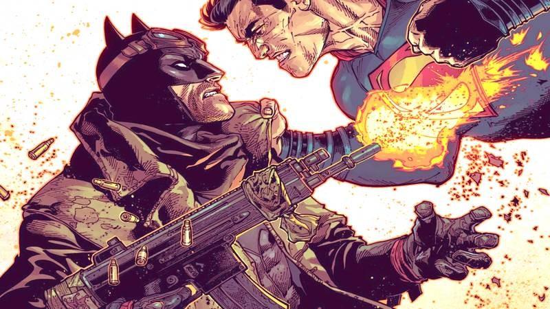 Khi tay Batman vấy máu Justice League (P3)