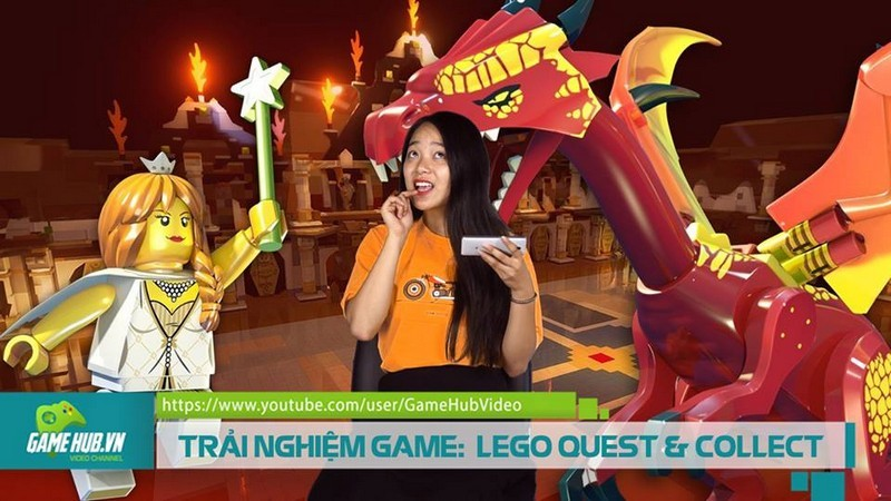 TRẢI NGHIỆM GAME: LEGO® QUEST AND COLLECT