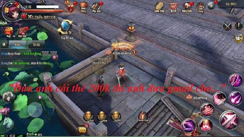 """Ỷ Thiên 3D – Cạn lời nữ game thủ mua Acc xong còn bị chủ cũ """"tống tiền"""""""