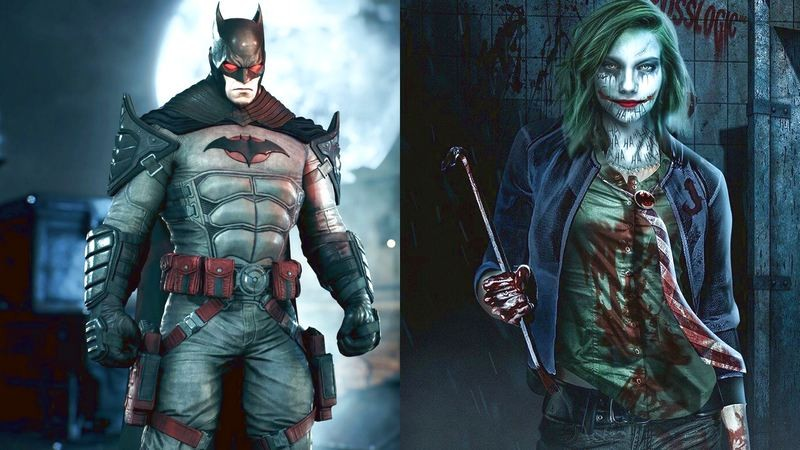 Khi Bruce Wayne chết, bố thành Batman và mẹ thành Joker