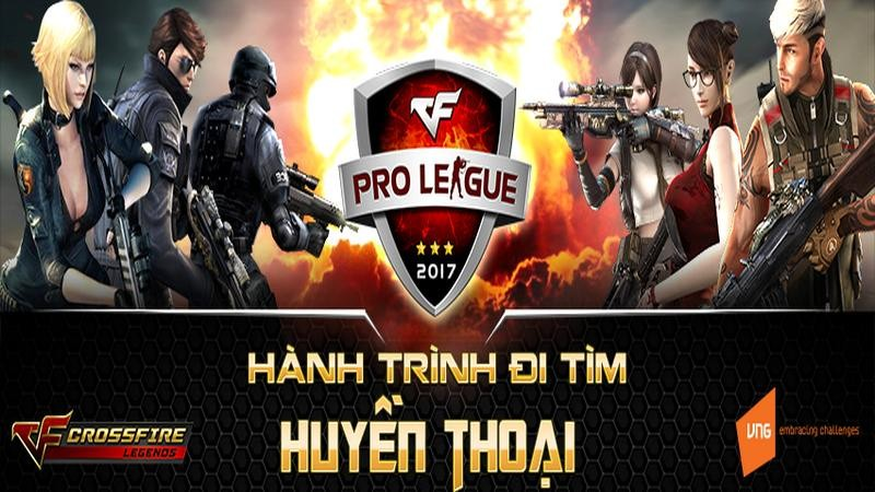 cfl pro league 2017, crossfire legends, headhunter, legend warriors
