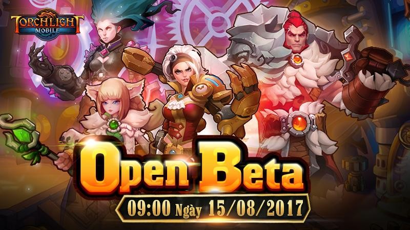 Torchlight Mobile tưng bừng Open Beta