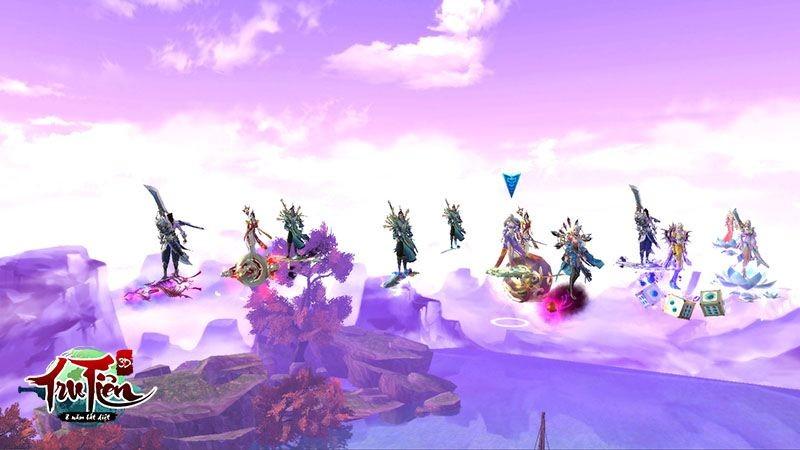 7 kiểu game thủ thường gặp trong Tru Tiên 3D
