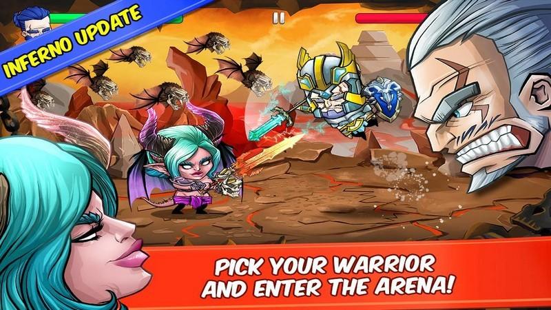 Tiny Gladiators – Game đối kháng cực chất, cực nhẹ