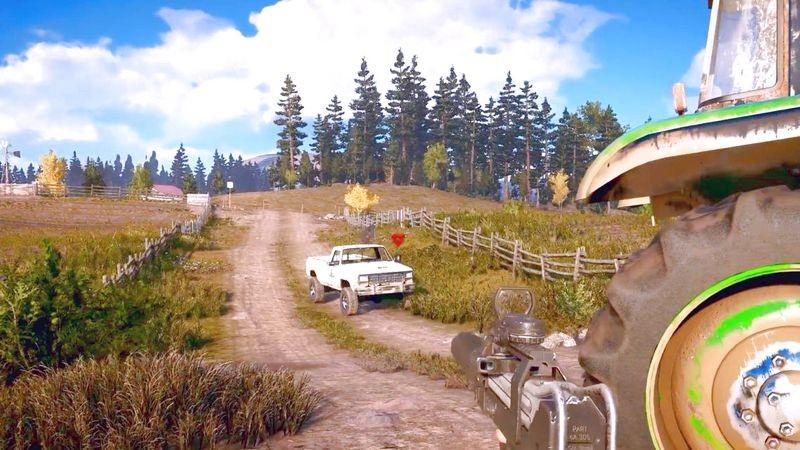 Far Cry 5 tung Trailer đẹp bay hàm, lần đầu tiên cho gamer... không chiến