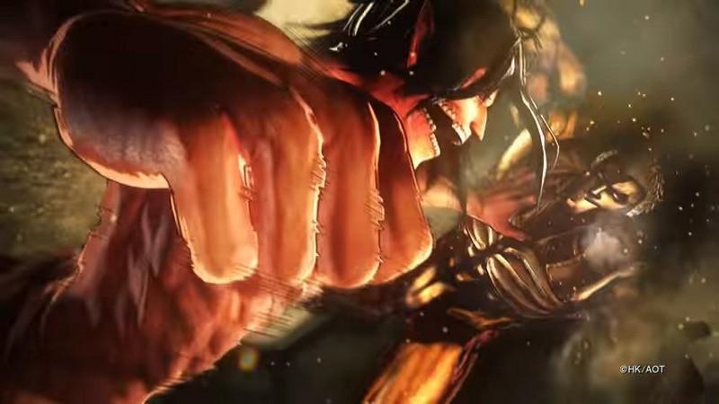 Siêu phẩm game Attack on Titan tung trailer phần 2 cực hot