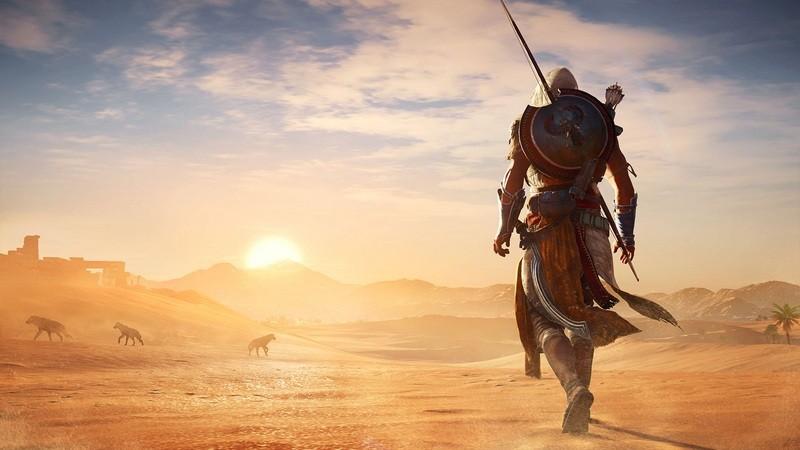 Trailer mới của Assassin's Creed Origins khiến game thủ khóc thét vì thế giới quá khủng
