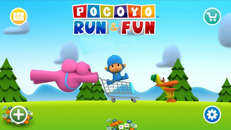 Pocoyo Run & Fun – Giải trí nhẹ nhàng không màng chuyện thiên hạ