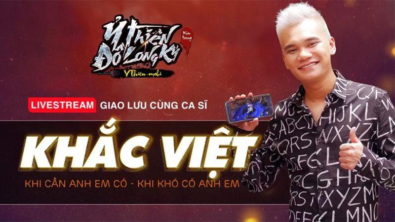 Khắc Việt - chàng ca sĩ đam mê chơi game và sống có trách nhiệm với Tổ Quốc