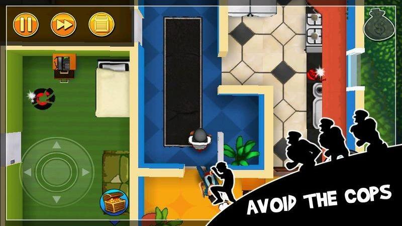 Robbery Bob – Chết ảo với bản Update mới nhất của game siêu đạo chích