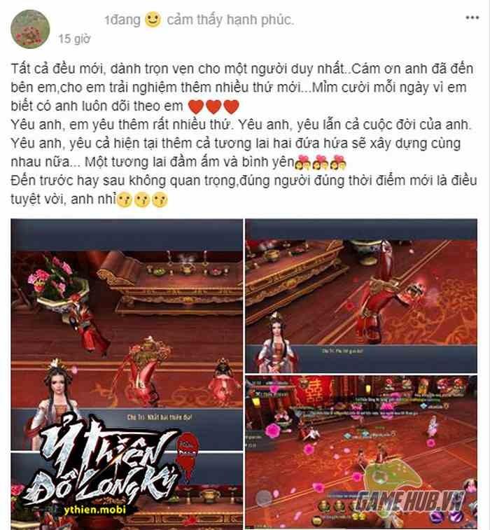 """Nữ game thủ Ỷ Thiên 3D tỏ tình công khai khiến cộng đồng game thủ """"Gato"""" không ngớt - ảnh 2"""