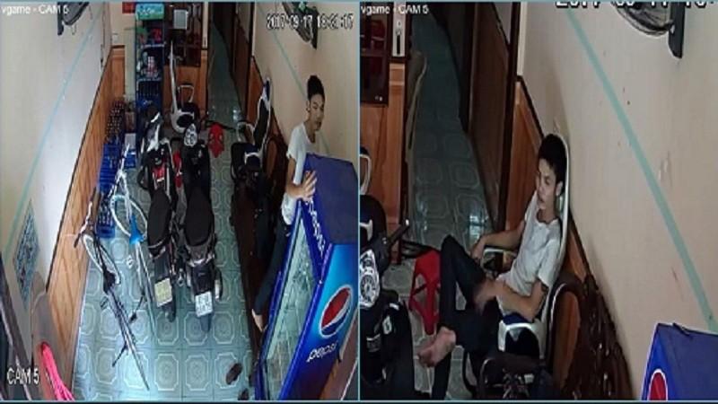 Thanh niên trộm laptop và xe đạp ngay tại quán net trong tích tắc