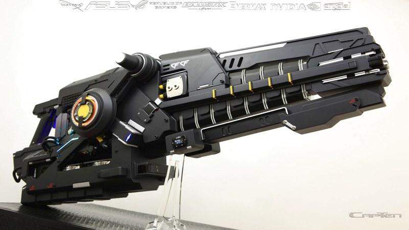 Game thủ độ nguyên PC thành mô hình vũ khí siêu khủng bố