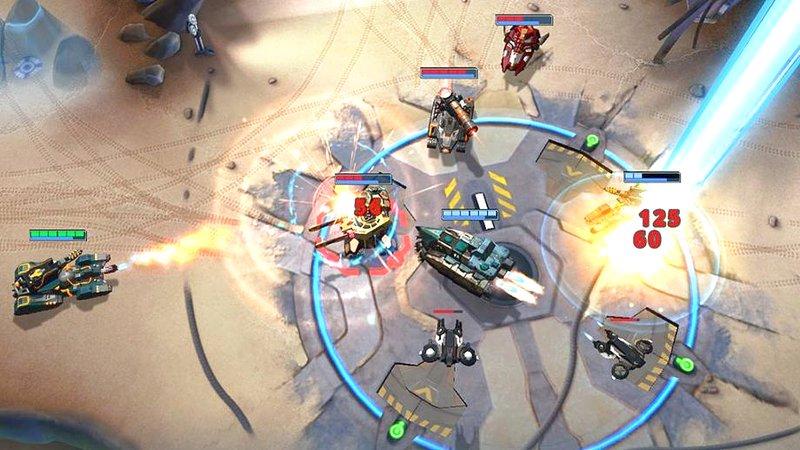 Đấu Tank kết hợp MOBA trong Game Mobile siêu độc Panzer League