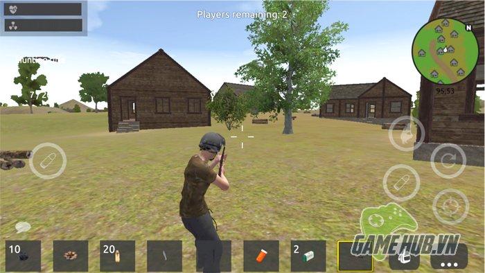 Ngoài việc hỗ trợ đến 24 game thủ cùng bước chân vào chiến trường, TIO:  Battlegrounds Royal còn có hệ thống mod súng khá thú vị.