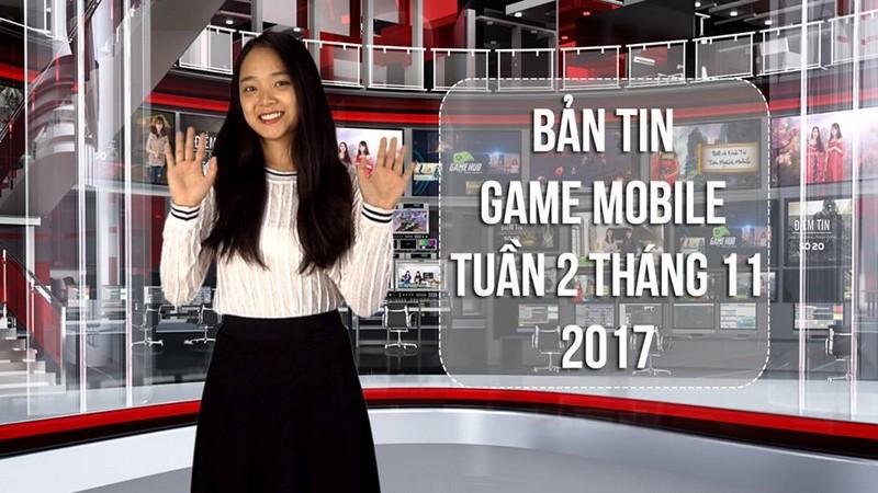 Bản tin game Mobile tuần 2 tháng 11/2017