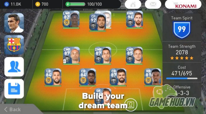 Tải ngay PES 2018 - Siêu phẩm game bóng đá vừa lên Mobile - ảnh 4