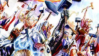 avengers, búa thor, iron man, marvel, marvel comics, mjolnir, ragnarok, storm, thor, truyện tranh, x-men