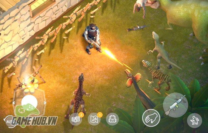 Jurassic Survival - Sinh tồn trước khủng long trong game chuẩn Last Day on Earth - ảnh 3
